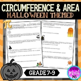 Area and Circumference: Fun Halloween Math Activity