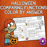 Halloween Math Activity- Comparing Functions
