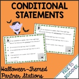 Halloween Math Activity: Conditional Statements