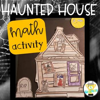 Activity for Halloween Haunted House Math