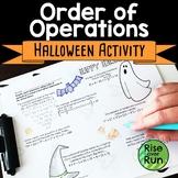 Halloween Math Activity: Order of Operations