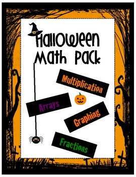 Halloween Math Activity Pack