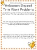 Halloween Math Activity Pack for 4th Graders