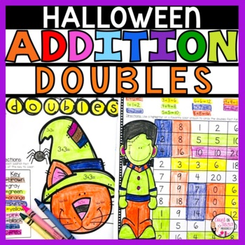 Halloween Addition Doubles Activities