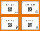 Halloween Math: Adding Decimals QR Code Task Cards