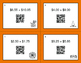 Halloween Math: Adding Money QR Code Task Cards