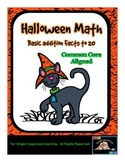 Halloween Math Addition (10 - 20) -Common Core Aligned {Sweet Line Design}