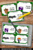 Halloween Math Centers or Stations Games & Activities 4th
