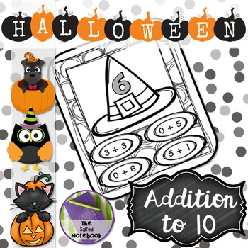 Halloween FREE Addition to 10