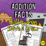 Halloween Math: Addition Facts