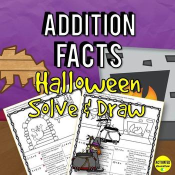 Halloween Math: Addition Facts