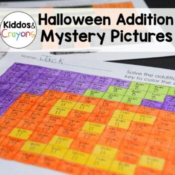 Halloween Math: Addition Within 20