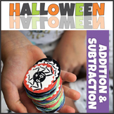 Halloween Math Addition and Subtraction up to 10