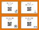Halloween Math: Algebra QR Code Task Cards