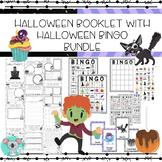 Halloween Math And Literacy Booklet With Halloween Bingo Game Bundle