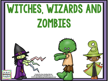 Halloween Math And Literacy:  Witches, Wizards And Zombies