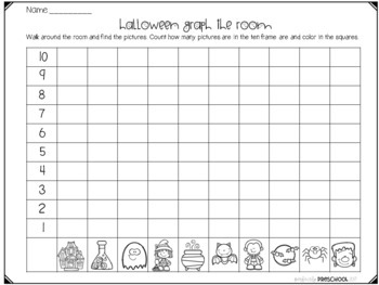 Halloween Math on the Go!