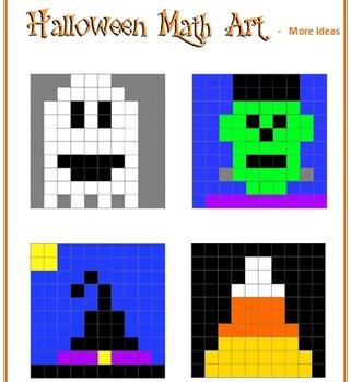 Halloween Math Art