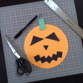 Halloween Math in Art Activity CREATE A MONSTER Jack-O-Lantern