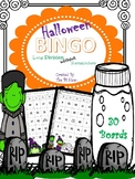 Halloween BINGO *Math*{Long Division: NO REMAINDERS} NO PREP