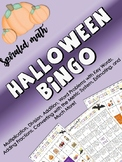 Halloween Math Bingo Game