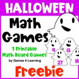 Free Halloween Math Games