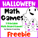 Free Halloween Math Games: Halloween Math Activities