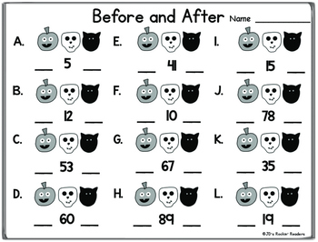 Halloween Math Book FREEBIE