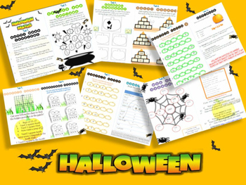 Halloween Math Booklet with Answers (Grade 4/5)