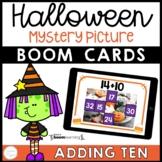Halloween Math Boom Cards™ Adding Ten Distance Learning