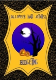 Halloween Math Budgeting Activities