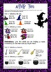 Halloween Math Budgeting Activities