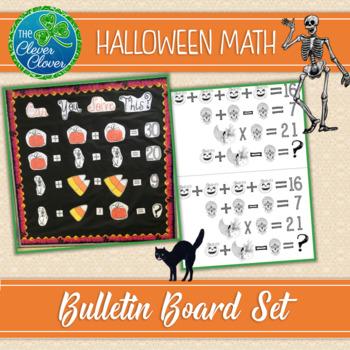 Halloween Math Bulletin Board