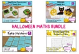 BUNDLE Halloween Math