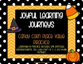 Halloween Math Candy Corn Place Value Practice