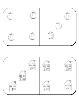 Halloween Math -  Center Activities and Worksheets