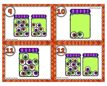 Addition Subtraction and Tallies Halloween Centers BUNDLE