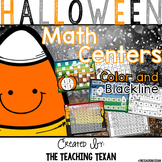 Halloween Math Center Games