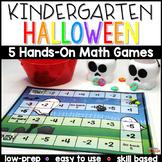 Halloween Math Center Games