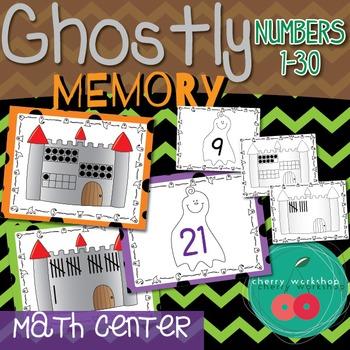 Halloween Number Sense Math Center