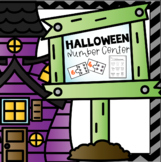 Halloween Math Center Numbers 1-9