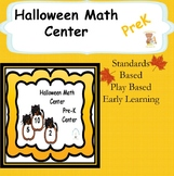 Halloween Math Center PreK