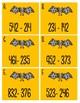 Halloween Math Center Triple Digit Subtraction