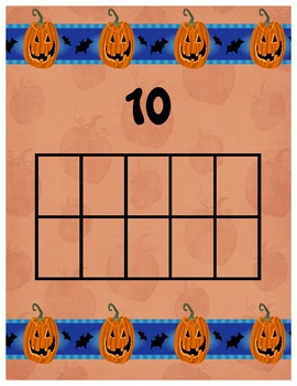 Halloween Math Center for Kinders!