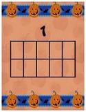 Halloween Math Center for Kinders!