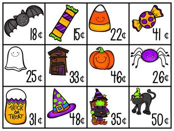 October / Halloween Math Centers