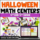 Halloween Math Centers