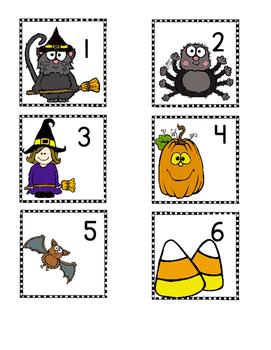 Halloween Activities Math Centers-Addition and Subtraction Word Problems to 20