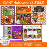 Giant Halloween Bundle - Math, Sight Words, Color by Codes