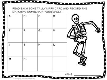 Halloween Math Centers FREEBIE!